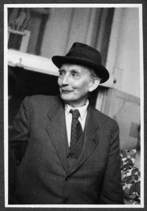Enno Heidebroeck um 1950