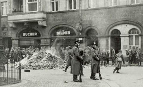 Bücherverbrennung 1933 Dresden