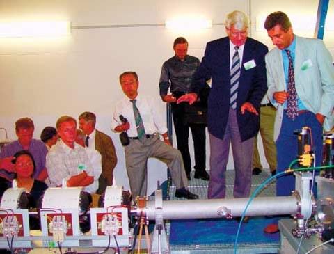 Einweihung des Neutronenlabors des TU-Instituts für Kern- und Teilchenphysik