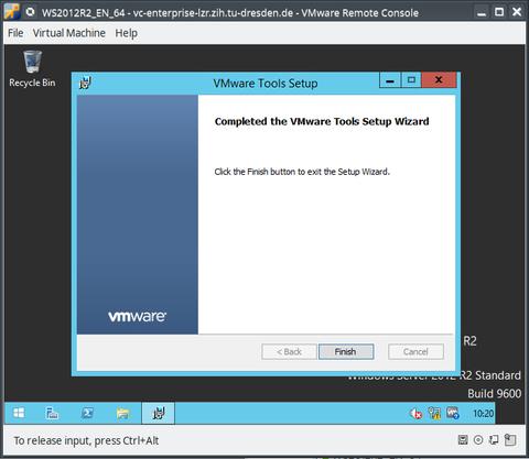Install/Update VMware-Tools - Step 7