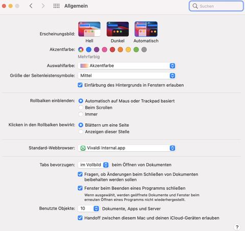Digitales Signieren unter MAC OS