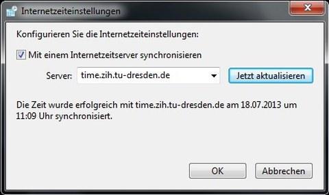 Time-Server definieren