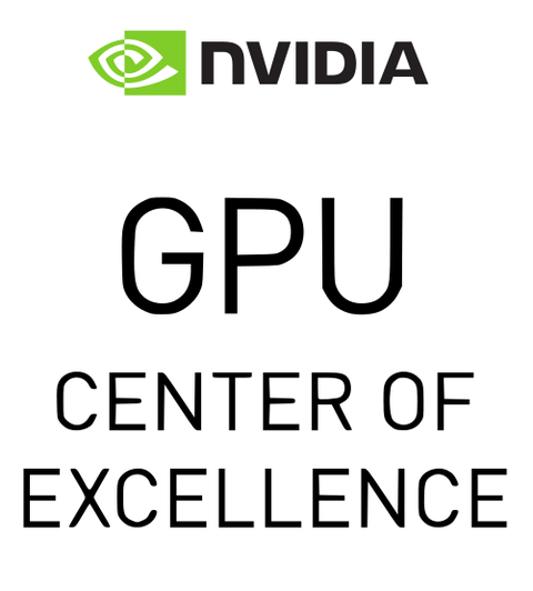 Logo des GPU Center of Excellence