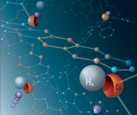 Infografik Abtrennung von Wasserstoff