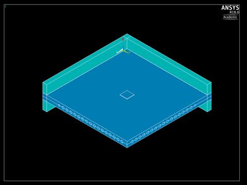 Viertelmodell 2,40x2,40x0,16m, Blockverformungen 20x20cm, Wegsteuerung