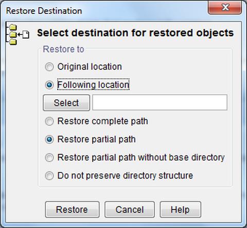 Restore GUI Bild 3