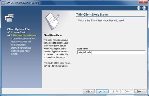 Setup Options File  Nodename