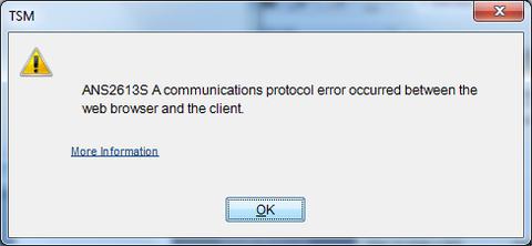 GUI config dsm.opt  error