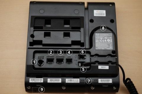 Cisco CP-6945 Backside