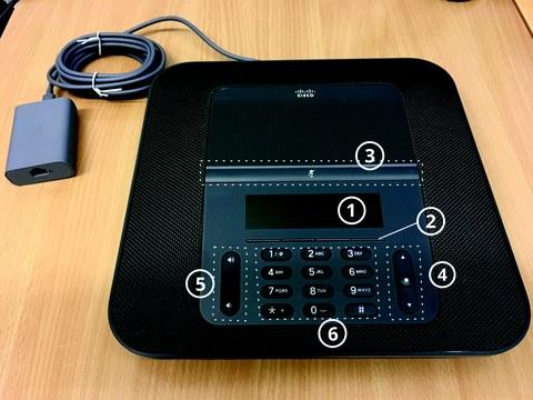 Cisco 8832 front
