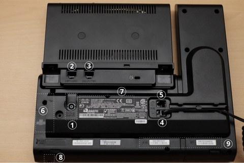 Cisco CP-8961 backside