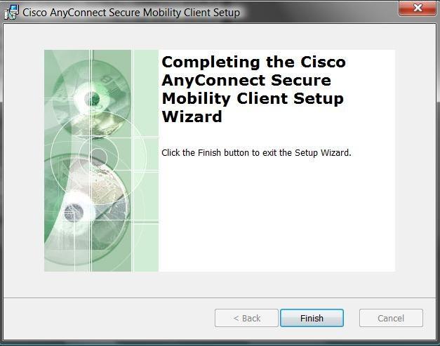 Anleitung Cisco AnyConnect für Windows 7, Windows 8 1