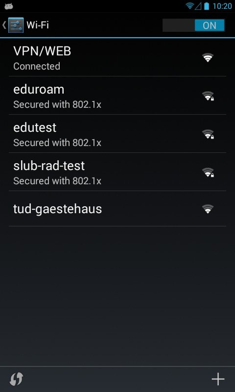 Eduroam with certificate on Android 4.x devices — Centre for ...