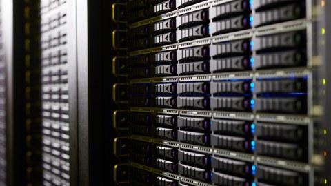 HPC-DA, Detailfoto der Infrastruktur