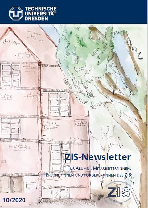 Cover des aktuellen ZIS-Newsletters