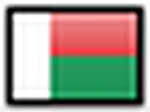 Flagge von Madagaskar