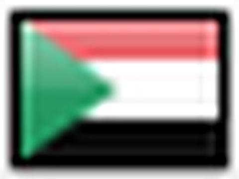 Flagge von Sudan