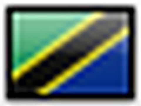 Flagge von Tanzania