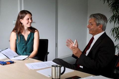Interview ZIS und Rektor