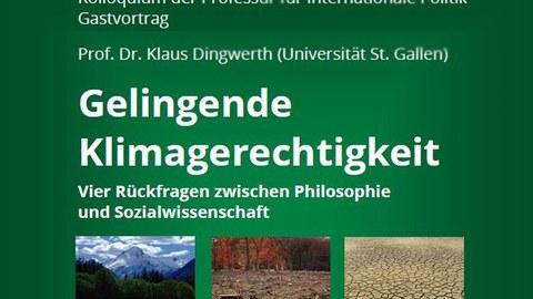 Vortrag Prof. Dr. Klaus Dingwerth