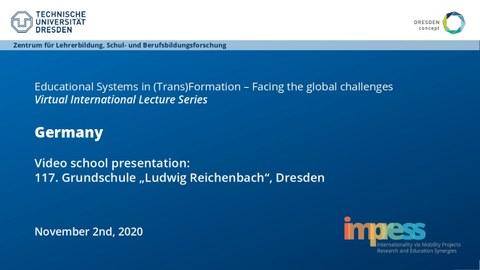"Preview: School presentation 117. Grundschule ""Ludwig Reichenbach"", Dresden"
