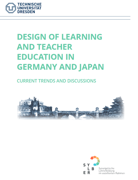 """Cover des Booklets zum Symposium """"Design of Learning and Teacher Education in Germany and Japan, current trends and discussions"""""""