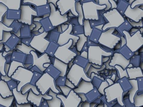 Bild, auf dem viele Facebook Likes zu sehen sind