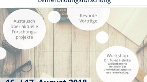 Dokument über die TUD Sylber Summer School im August 2018