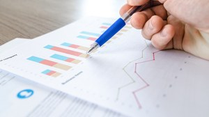 Foto eines Blattes auf der eine Grafik zur Qualitätsanalyse dargestellt ist